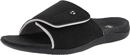 Vionic Kiwi Slide Sandal - Slide Sandal with Concealed Orthotic Arch Support