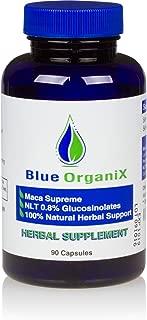 Maca Root Capsules 600mg, 0.8% Glucosinolates, Organic Peruvian Maca Root Extract Pills for Women and Men, Gluten Free