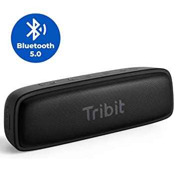 Tribit XSound Surf Bluetooth Speaker, 12W Speakers Bluetooth Wireless with Superior Sound, Bluetooth 5, IPX7 Waterproof, Wireless Stereo Pairing, 100ft Wireless Range Perfect for Home, Outdoor, Travel