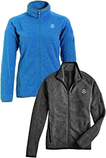 Mercedes Benz Ladies' Knit Fleece Sweater (XL, Blue)