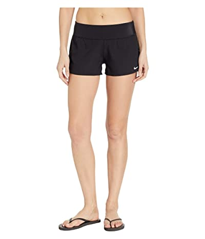 Nike Solid Element Swim Boardshorts (Black) Women
