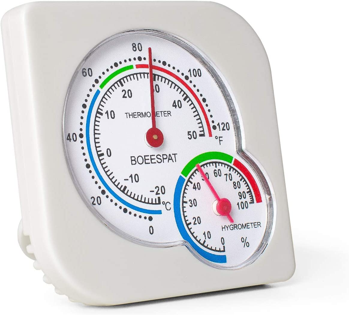 BOEESPAT Mini Indoor New life Thermometer Ranking TOP14 Temperature Humidity Hygrometer