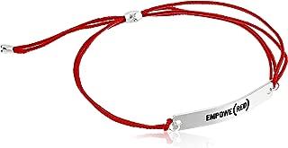 Empowe(RED) Kindred Cord Bracelet