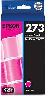 Epson T273320-S T273320 Claria Premium 273 Standard-Capacity Magenta Ink Cartridge (T273320) Ink