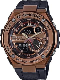 Men's G-Shock GST210B-4A Black Rubber Quartz Sport Watch