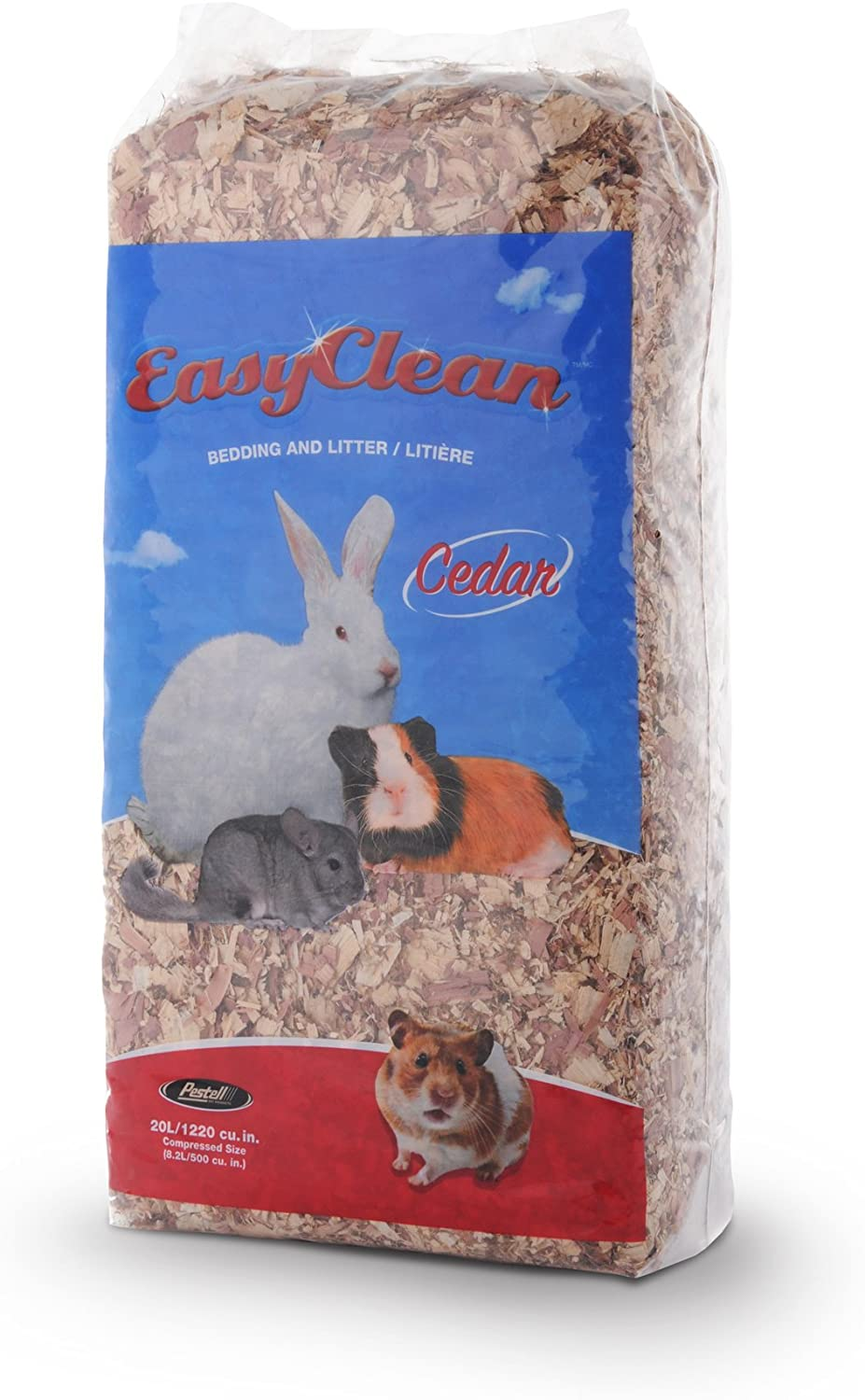 Pestell Pet Products Easy Clean Cedar Bedding 20L