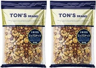 東洋ナッツ 【セット商品】ミックスナッツ 1Kg(500g×2袋)