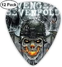 RodneyLRobbins Avenged Sevenfold Custom Made Medium Hard Guitar Picks 12 Pieces for Electric Guitars Acoustic Guitars Mandolin and Bass