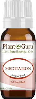 Meditation Essential Oil Blend 100% Pure Undiluted Therapeutic Grade Great for Centering, Aromatherapy, Yoga and Concentra...