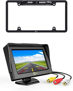 $40 » License Plate Backup Camera & 4.3 Inch Car Rear View Backup Monitor