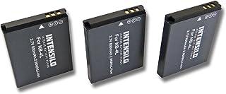 3x Batería para Canon Legria Mini