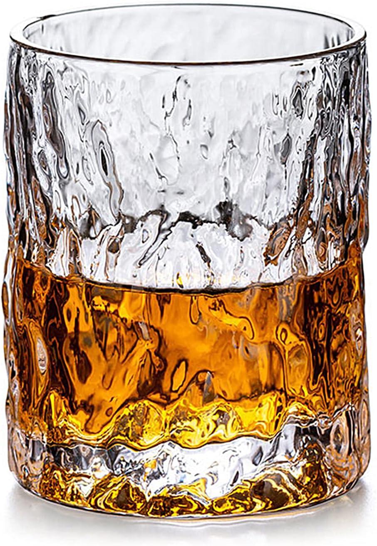 Gsrhzd Vasos de whisky, vasos de whisky de cristal, Copas de vino de vidrio de 500 ml, vasos de cerveza para el hogar y el hotel, vasos de whisky clásicos, vasos de cóctel