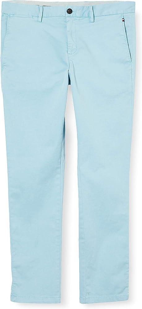 tommy hilfiger , jeans , pantaloni per uomo , 98% cotone, 2% elastan mw0mw13287d