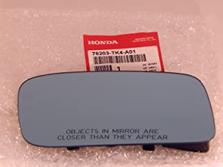 09-14 Acura TL Right Passenger Convex Mirror Glass Blue Heated w Rear Backing Plate OE