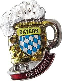 Oktoberfest German Hat Pin by E.H.G | Metal Deluxe Beer Mug | Germany Banner