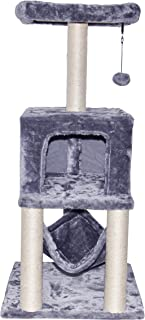 TINWEI Cat Tree Scratching Toy Activity Centre Cat Tower Furniture Scratching Posts