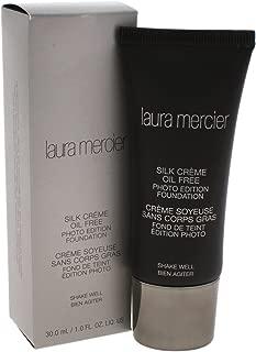 Laura Mercier Silk Creme Oil-free Photo Edition Foundation, Cream Ivory, 1 Fl Oz
