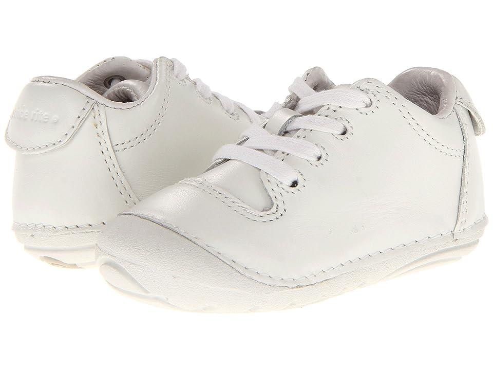 Stride Rite SRT SM Freddie (Infant/Toddler) (White) Boys Shoes