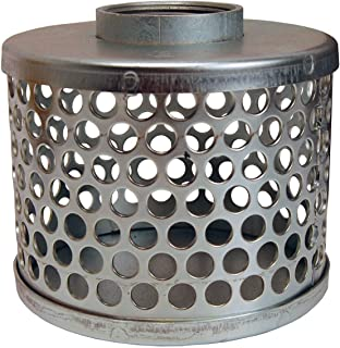 Dixon SHS80 NPSM Square Hole Strainer Zinc Plated Steel 8 ID