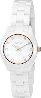 Caravelle New York Women's Quartz Stainless Steel Dress Watch (Model: 45L159)