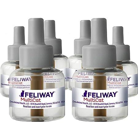 FELIWAY MultiCat Calming Pheromone, 30 Day Refill - 6 Pack