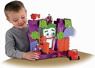 Imaginext - La Casa del Joker, Figuras y Set de Juegos de acción (Mattel W8577)