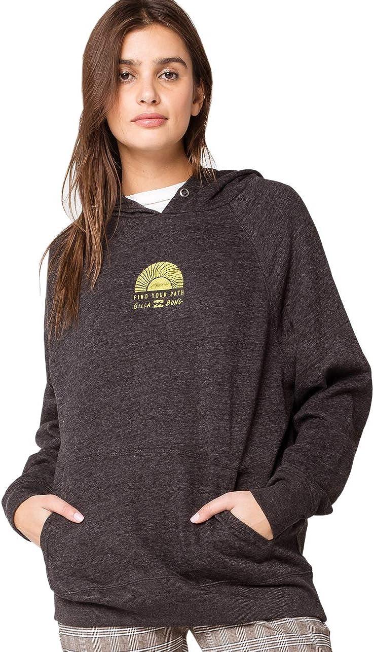 Billabong Women's Graphic Pullover Sweatshirt Fleece Hoodie