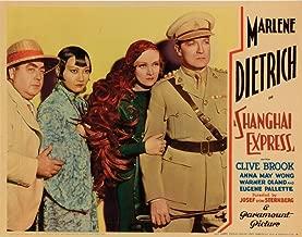 Posterazzi Shanghai Express Eugene Pallette Anna May Wong Marlene Dietrich Clive Brook 1932 Movie Masterprint Poster Print (14 x 11)