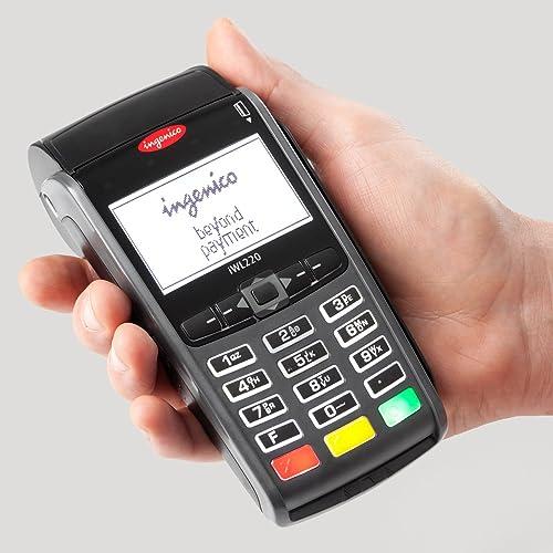 Lot de 20 rouleaux de papier thermique compatible TPE Ingenico iWL220 pour cartes de crédit Rouleaux de papier pour t...