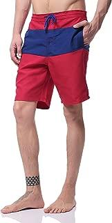 Pau1Hami1ton Mens Swim Trunks Quick Dry Beach Wear Shorts Mesh Pocket Swimwear Bathing Suits NBS-01