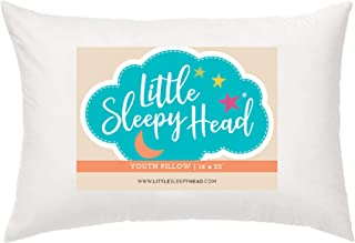 Youth Pillow - 16 X 22 - Soft & Hypoallergenic - Made in USA - Better Sleep for Kids - Perfect Size - Backed by Our Love The Fluff Guarantee