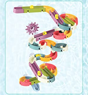 Juguetes de baño, juguetes de baño, toboganes y toboganes de pista de montaje para niños
