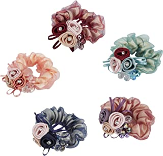 Ethereal Floral Ponytail Holders