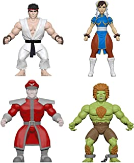 Funko Savage World: Street Fighter Collectible Action Figures (Set of 4)