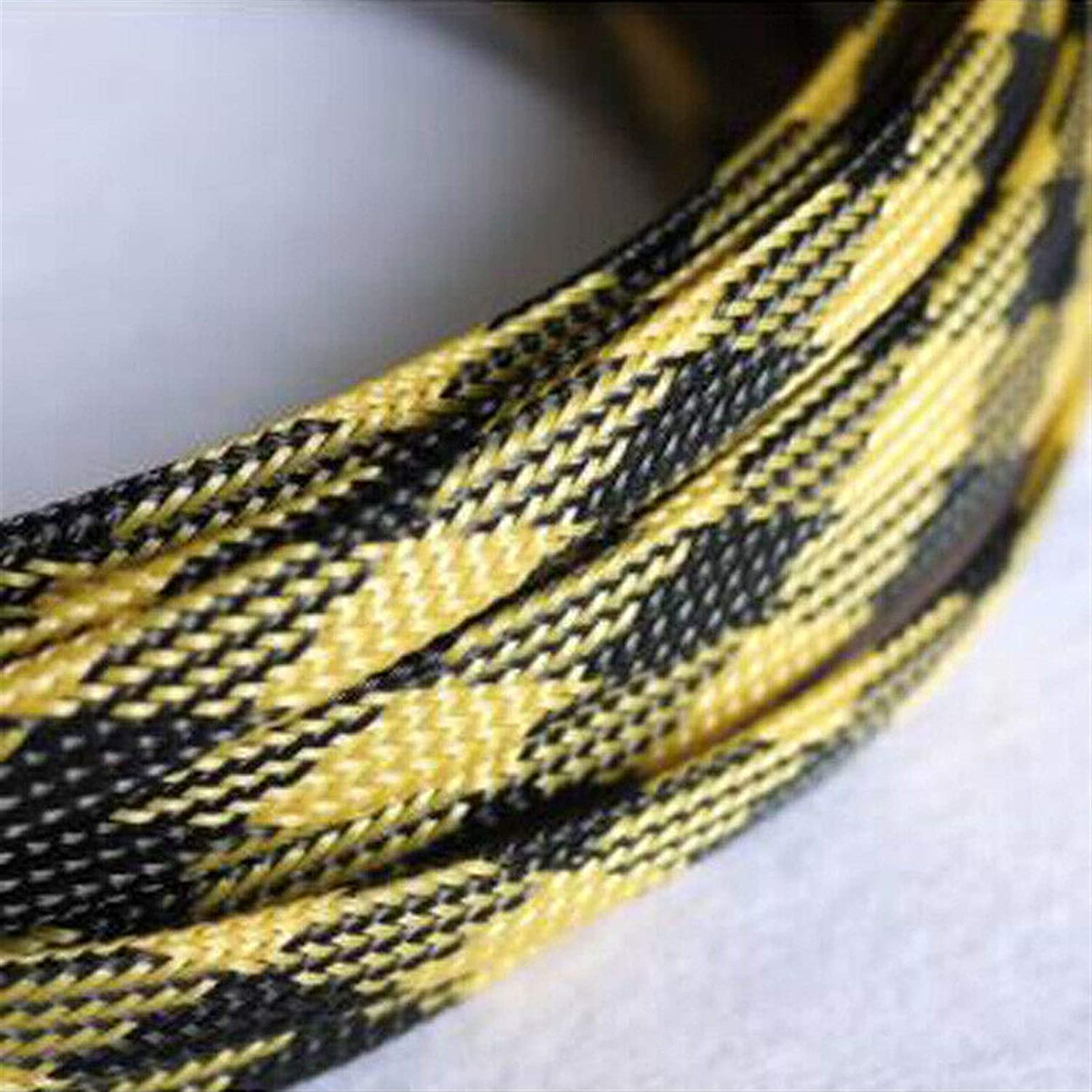 Our Max 46% OFF shop OFFers the best service Cable Tidy Sleeves Length 1-50Meters Black 3-16mm Yellow Snakes
