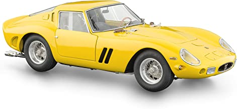 CMC-Classic Model Cars Ferrari 250 GTO 1962 Limited Edition Vehicle (1:18 Scale), Yellow