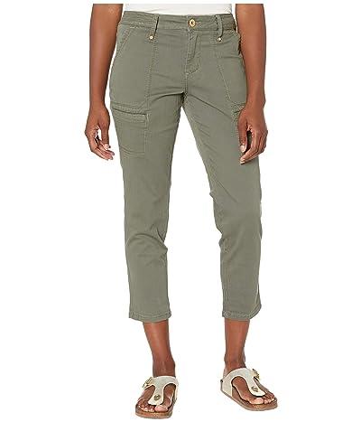 Jag Jeans Petite Petite Easton Utility Pants (Jungle Palm) Women