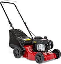"Sprint 2691620 410P Push Petrol Lawn Mower 41cm (16""), Briggs & Stratton 300E Series 125cc, Dark red, 40 cm/P"
