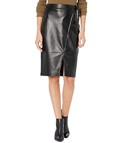 Blank NYC Wrap Skirt w/ Tie Closure (Lonestar) Women