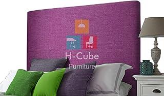 H-Cube meble tapicerowane łóżko łóżko podszafkowe zagłówek Turyn grubość tkaniny 7,5 cm (w przybliżeniu) różne wysokości i...