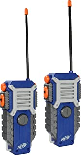 NERF Walkie Talkie for Kids Fun at The Touch of a Button, Set of 2, 1000 feet Range by..