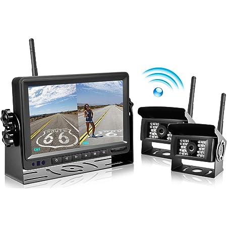 Digitales Drahtloses Rückfahrkamera System Podofo 7 Elektronik