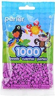 Perler Beads Fuse Beads for Crafts, 1000pcs, Plum Purple