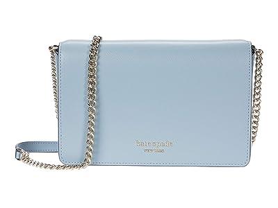 Kate Spade New York Spencer Chain Wallet (Horizon Blue) Handbags