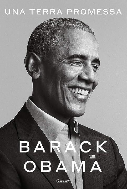 Libro di barack obama - una terra promessa (italiano) copertina rigida garzanti 978-8811149873