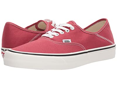 Vans Authentic SF (Mineral Red/Marshmallow) Lace up casual Shoes