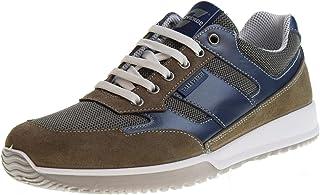 VALLEVERDE Sneaker Uomo in Pelle E CAMOSCIO CODICE 53861