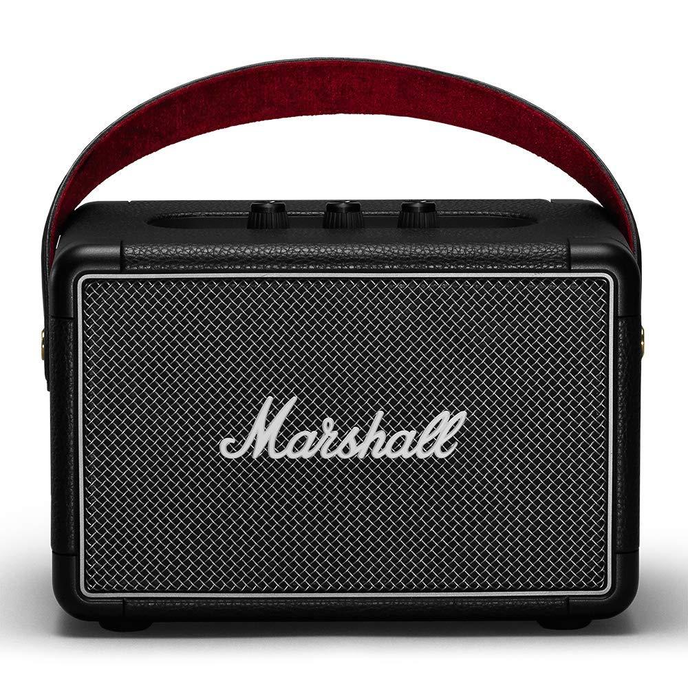 마샬 킬번 II 포터블 블루투스 스피커 - 블랙 Marshall Kilburn II Portable Bluetooth Speaker, Black