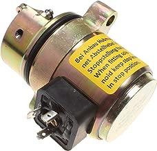 Holdwell Fuel Shut Off Solenoid 04170534R for Deutz BF4M1011F Bobcat Skid Steer Loader 12Vdc