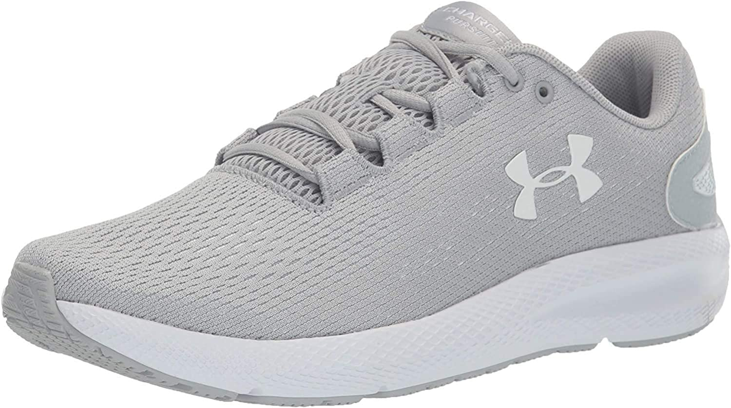 Under Directly managed store Armour Men's Charged Pursuit 2 Gray Shoe Over item handling ☆ 102 Mod Running